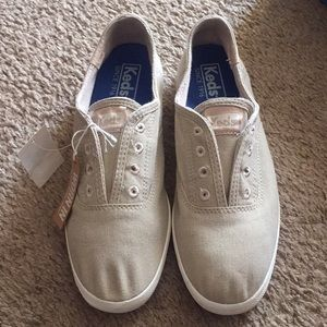 Brand New Keds Tan Shoes Size 6.5